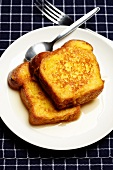 French toast with rum
