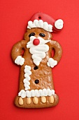 Gingerbread Santa Claus