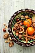 Aromatic Christmas plate