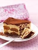 Tiramisu (layered mascarpone dessert, Italy)
