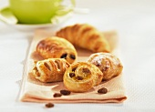 Filled Danish pastries