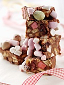 Rocky road cakes (England)