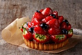 Strawberry tartlette