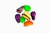 Verschiedene Fruchtbonbons