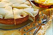 Sunken apricot cake