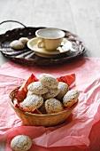 Amaretti (almond macaroons, Italy)