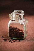 Small Open Jar of Cloves