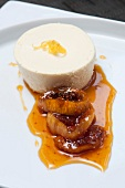 Individual Cheesecake with Fig Sauce