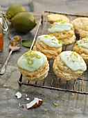 Coconut and lime whoopie pies