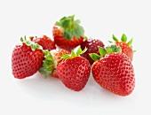 Mehrere Erdbeeren