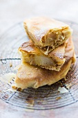 Pastilla with pears and Oriental spices