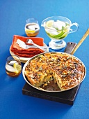 Spanish omelette with chilli