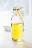 A bottle of olive oil as a gift