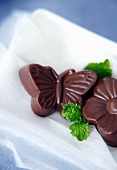 Handmade Butterfly and Flower Chocolates