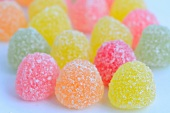 Colourful jelly sweets