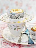 Süsskartoffel-Orangen-Cupcakes