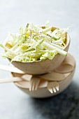 Cabbage salad with apple