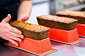 Fruitcakes, turned out of the tins