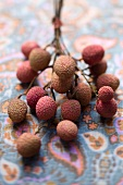Lychees with twig