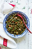 Fasulye (Turkish dish of beans with dill)