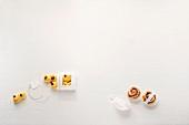 Lussekatter & kanelbullar (saffron cakes and cinnamon whirls, Sweden)