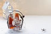 Teelikör mit Orange & Vanille zum Verschenken