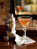 The Scofflaw (Drink mit Whisky und Vermouth)