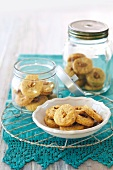 Parmesan and Walnut Shortbread