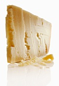 A slice of Grana Padano