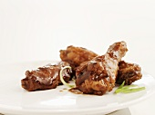 Chicken wings with honey and garlic