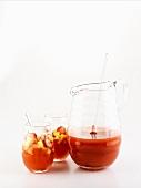 Summery fruit punch