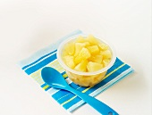 Poached pineapple