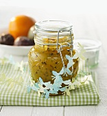 Mango and passion fruit spread