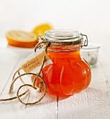 Orange jam with Aperol