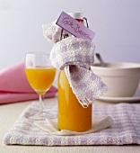 Home-made sea buckthorn juice