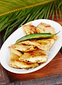 Quesadillas mit Chilischote