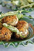 Balls of sage and onion stuffing