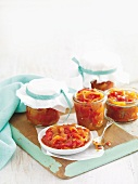 Roast red capsicum and chilli relish