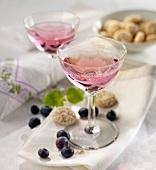 Blueberry schnapps