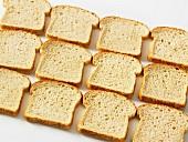 Sliced wholemeal sandwich bread