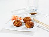 Spicy tuna fishcakes (Asia)