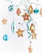 Bright Christmas tree decorations