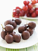 Chocolate Covered Red Grapes