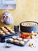 Fruit Mince Tarts and Christmas Cake