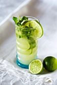 Asian lime cocktail