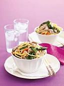 Hokkien noodles with pork
