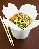 Noodle and vegetable stir-fry