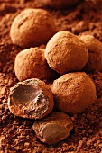 Chocolate Truffles - with recipe step shot