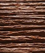 Schokoladenflakes-Stäbchen