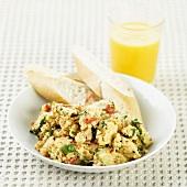 Huevos a la mexicana, Mexican eggs